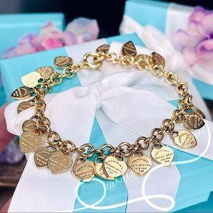Tiffany & Co. Return to Tiffany Multi-Heart Tag Bracelet in 18k Rose Gold